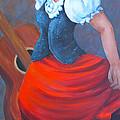 Spanish Dancer 2 by Marta Styk