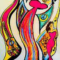 Spanish Guitar by Artista Elisabet