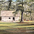 Spanish House Mission San Luis Tallahassee by Bill Holkham