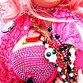 Spanish  Mardi Gras Parade Finery Louisiana by Lizi Beard-Ward
