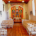 Spanish Mission Church New Mexico by Jeff Black