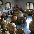 Spanish Pottery Shop by Jane Linders