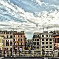 Spanish Steps by Allen Hall