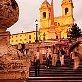 Spanish Steps by Brian Jannsen