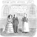 Spark Notes Marriage Vows -- A Minister Says by Roz Chast
