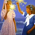 Sparkler Duet by Candace Lovely