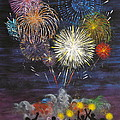 Sparklers by Cynthia Ring