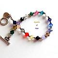 Sparkles Of Hope Cancer Bracelet by Barbara Griffin