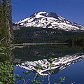 Sparks Lake Reflection by Terry Dorvinen