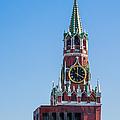 Spasskaya Tower Of Moscow Kremlin - Featured 3 by Alexander Senin