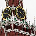Spassky - Savior's - Tower Of Moscow Kremlin - Featured 2 by Alexander Senin