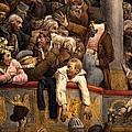 Spectacle Gratis, Avant Scene by Joseph-Louis Hippolyte Bellange