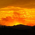 Spectacular Nevada Sunset  by Phyllis Kaltenbach