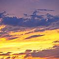 Spectacular Sunset by Elena Elisseeva