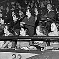 Spectators At The Circus by Underwood Archives