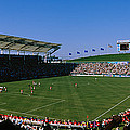 Spectators Watching A Soccer Match, Usa by Panoramic Images