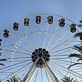 Spectrum Center Ferris Wheel In Irvine by Carol M Highsmith