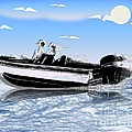 Speed Boating by Belinda Threeths