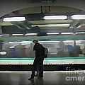 Speeding Subway Train by John Malone
