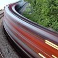 Speeding Train by Paul Fell