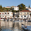 Spetses Island Old Harbour by Paul Cowan