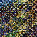 Spex Pseudo Abstract Art by Mary Clanahan
