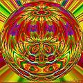 Spherical Art 10 by Charmaine Zoe