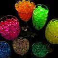 Spherical Polymer Gel 2 by Ru Tover