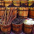 Spices In The Egyptian Market by Irina Effa