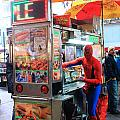 Spider Man Hot Dogs by Steven Baier