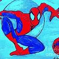 Spider-man  by Saundra Myles