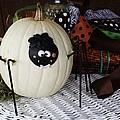 Spider Pumpkin by Paulette Thomas