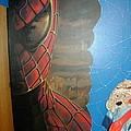 Spiderman Mural by Tim  Joyner