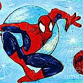 Spiderman Out Of The Blue 2 by Saundra Myles