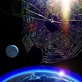 Spiders In Space - The Beginning Of The End by James Temple
