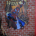 Spidey Mural Again  by Tim  Joyner