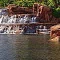 Spilling Over Waterfall by Douglas Barnett