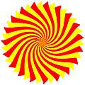 Spin Right On White by Tim Fillingim