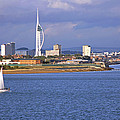 Spinnaker Tower And Gunwharf Quays by Tony Murtagh
