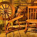 Spinning Wheel by Adam Jewell