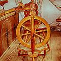 Spinning Wheel by Omaste Witkowski