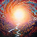 Spiral Glow by Karma Moffett
