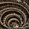 Spiral Staircase No1 Sepia by Weston Westmoreland