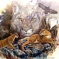 Spirit Cat by Sherry Shipley