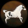 Spirit Horse Drum  by Ethan Foxx