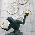 Spirit Of Detroit Monument by Ann Horn