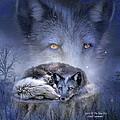 Spirit Of The Blue Fox by Carol Cavalaris