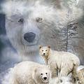 Spirit Of The White Bears by Carol Cavalaris