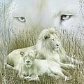 Spirit Of The White Lions by Carol Cavalaris