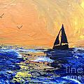 Spirits Rise As The Sails Fill by Linda Waidelich